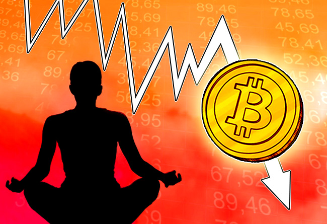 Why the Bitcoin price drop is nothing to panic about