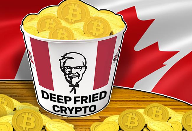 Deep Fried Crypto - KFC Canada Unveils the Bitcoin Bucket