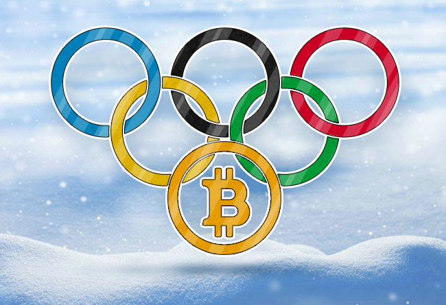 Bitcoin makes inadvertent impact at PyeongChang 2018 Winter Olympics!