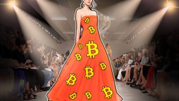 rypto-inspired high fashion arrives at New York Fashion Week
