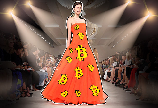 rypto-inspired high fashion arrives at New York Fashion Week