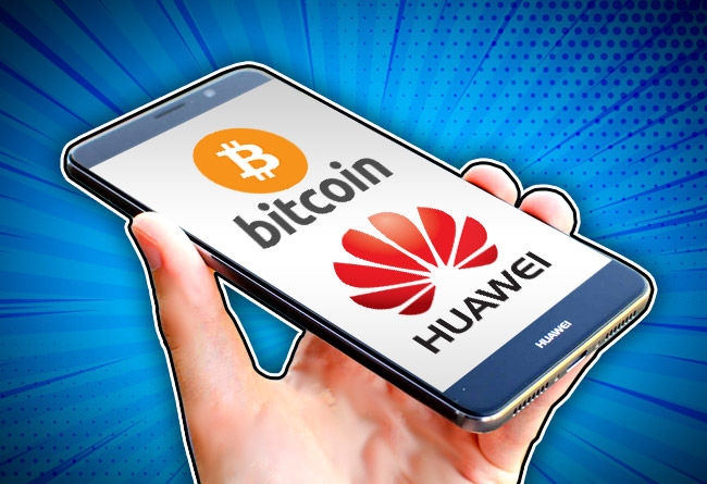 Huawei Set To Develop A New Blockchain-based Smartphone