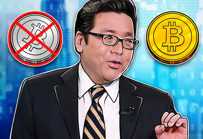 Tom-Lee-urges-investors-to-back-Bitcoin-over-Bitcoin-Cash