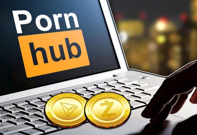 Pornhub-Moves-to-Accept-Tron-&-ZenCash