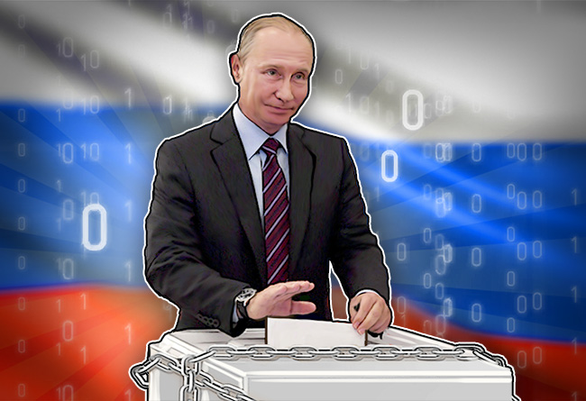 Russia-Trialing-Blockchain-Voting-System
