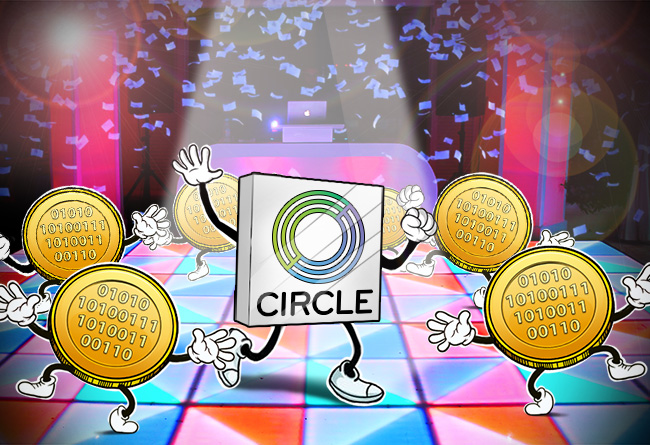 Circle-Lists-Four-New-Cryptos
