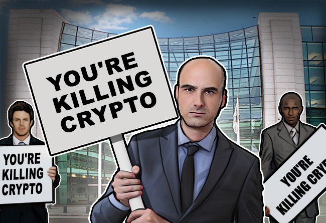 American-Lawmakers-Say-SEC-is-Killing-US-Crypto-Industry