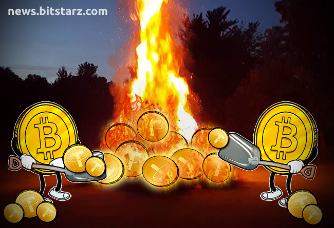 Tether-Burns-More-Than-Half-of-All-USDT-in-Circulation