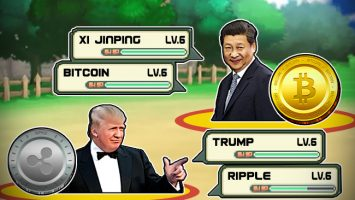 Trump-to-Fight-China-and-Bitcoin-Using-Ripple