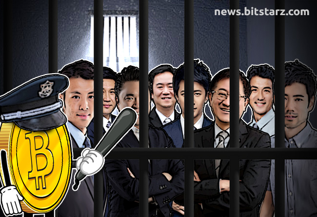 Eight-Men-Arrested-in-Japanese-Crypto-Pyramid-Scheme