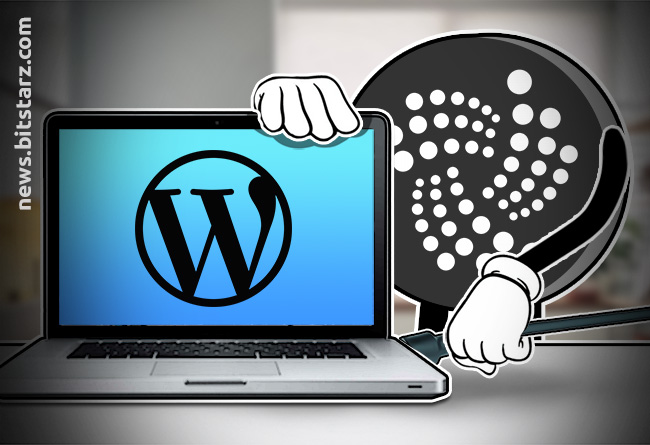 WordPress-Users-Can-Now-Accept-IOTA-Thanks-to-a-New-Plugin