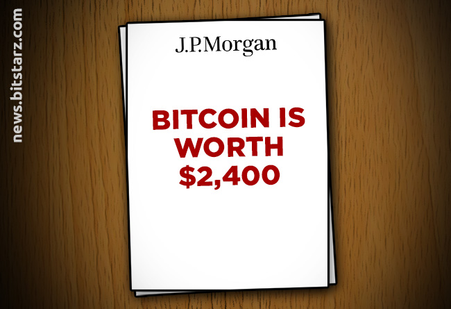 JPMorgan-Controversially-Revalues-Bitcoin-at-$2,400