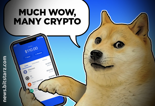 Coinbase-Adds-Dogecoin-to-Its-Wallet's-List-of-Accepted-Cryptos