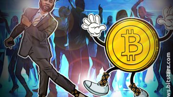 South-African-President's-Son-Wears-Bitcoin-Socks-to-Inauguration