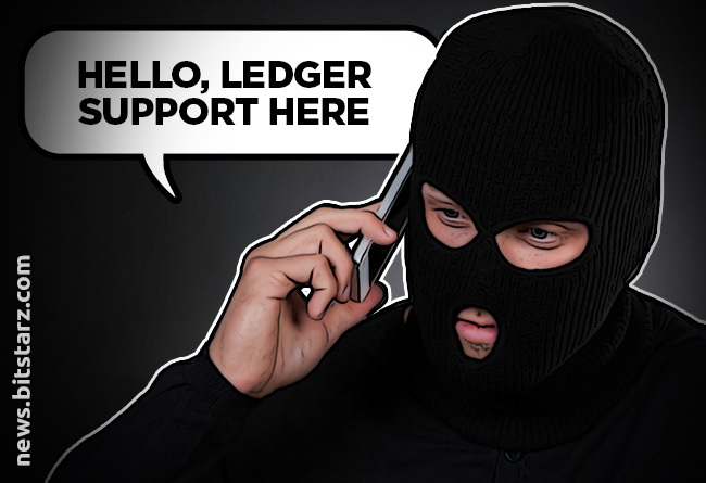 WARNING: Scammers are Posing as Ledger Telephone Support