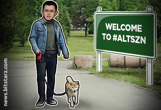 CZ-Kickstarts-#altszn-by-Listing-Dogecoin