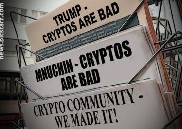 Crypto-in-the-News,-Featuring-Trump,-Mnuchin,-and-Libra
