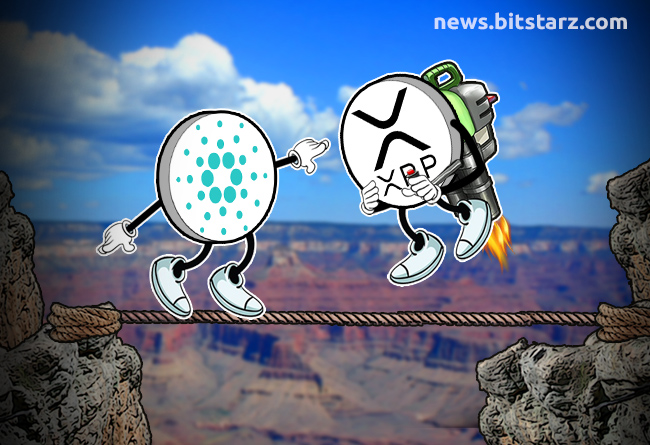 Cardano-Hovering-in-the-Danger-Zone,-XRP-Looks-Positive
