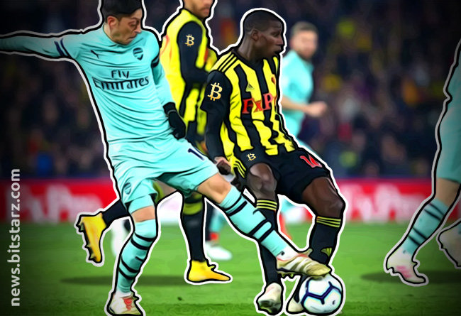 Bitcoin-Set-to-Make-an-Appearance-on-Watford's-Kit-VS-Arsenal
