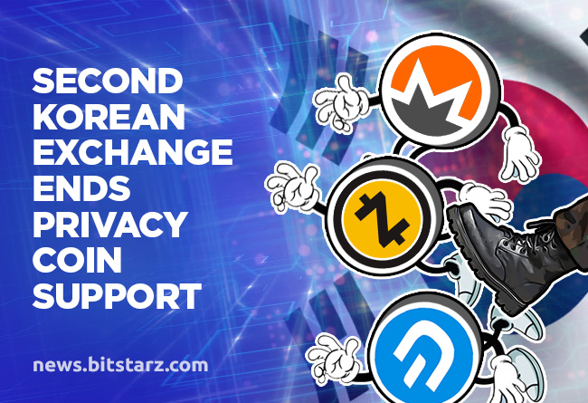 Second-Korean-Exchange-Ends-Privacy-Coin-Support