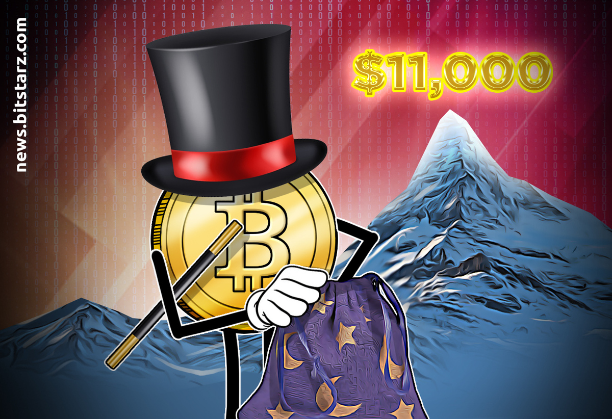 Bitcoin potentially heading for $13k