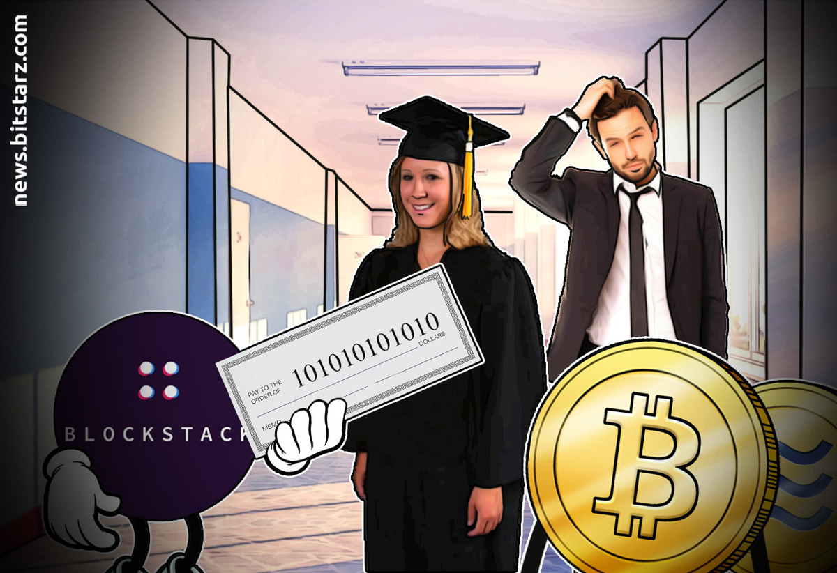 Blockstack paying off college debt