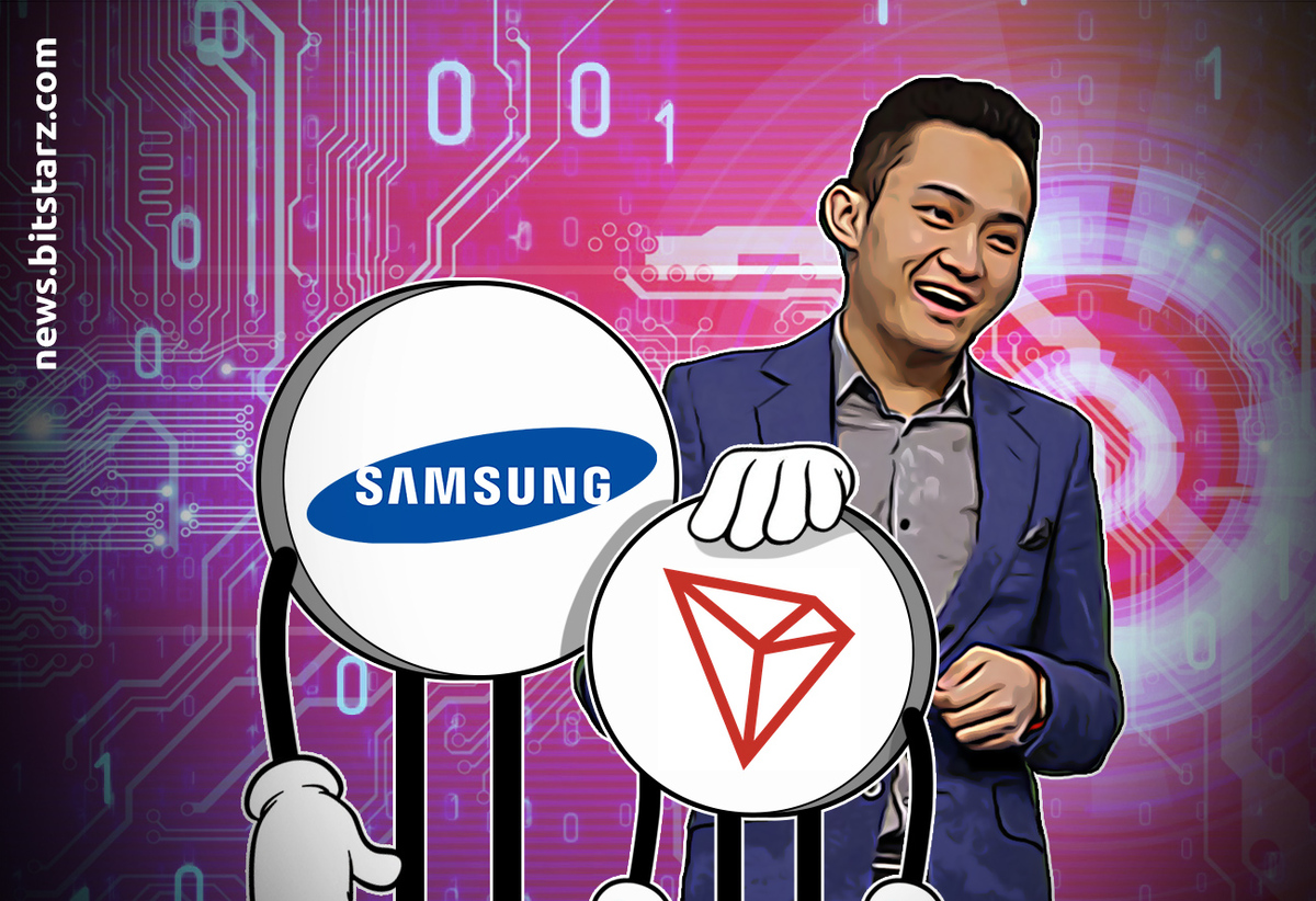 Tron now part of Samsung blockchain keystore SDK