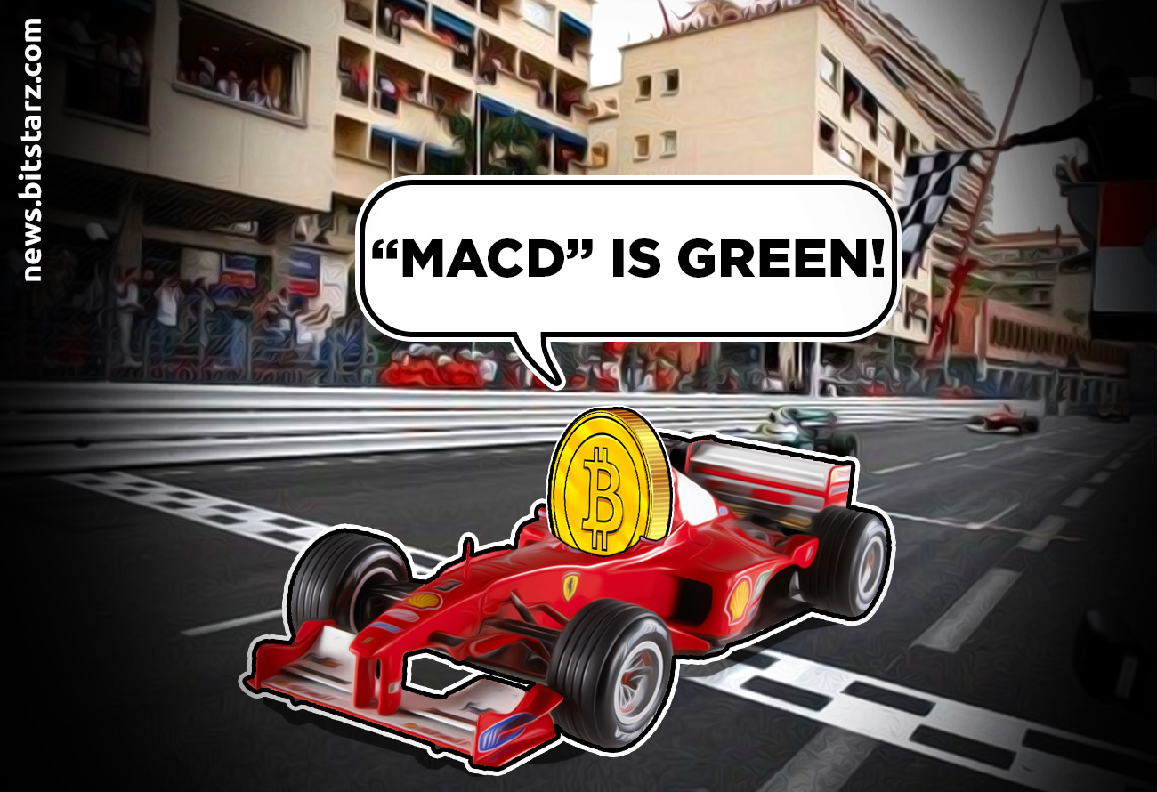 Bitcoin-Hit-$14,000-Last-Time-the-MACD-Was-Green!