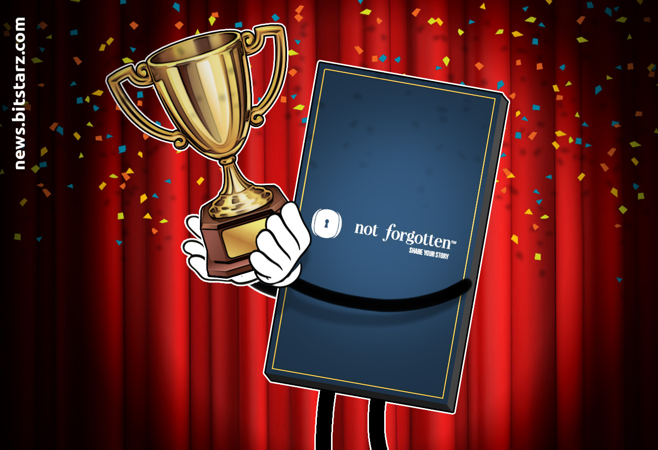 NotForgotten-Blockchain-Time-Capsule-Wins-Innovation-Award