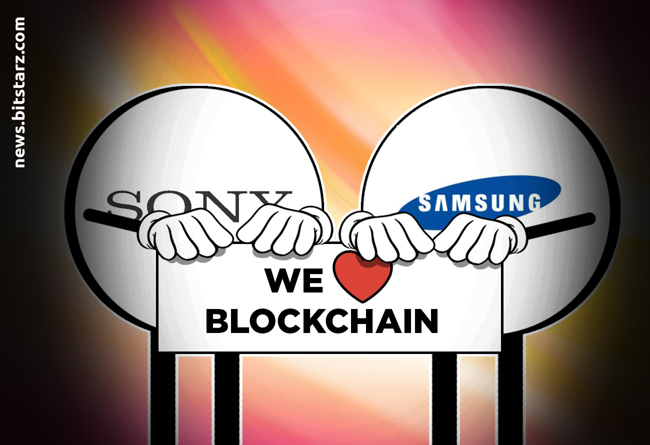 Samsung-and-Sony-Invest-in-Blockchain-Projects