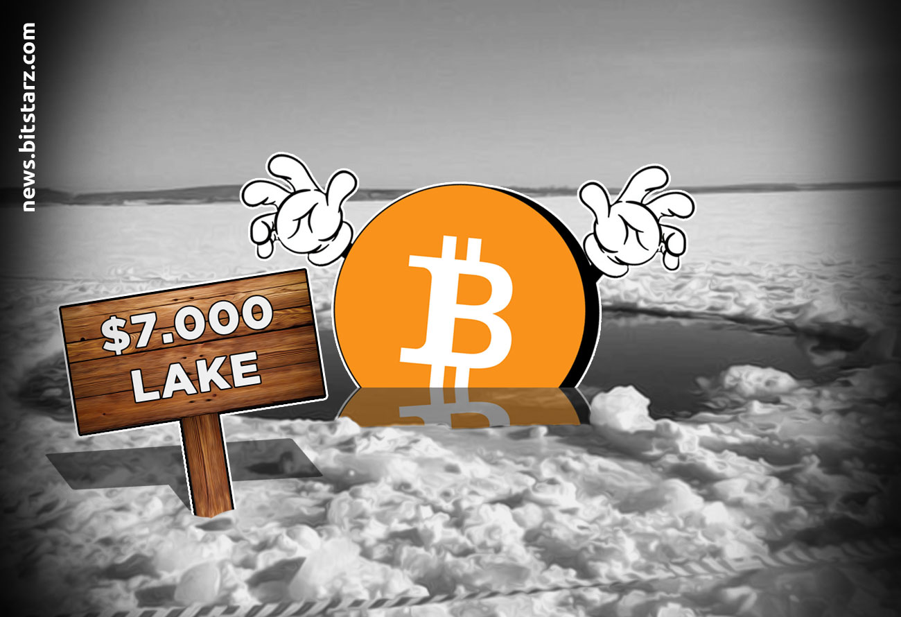 Bitcoin-Loses-Three-Week-Support-in-Sub-$7,000-Drop