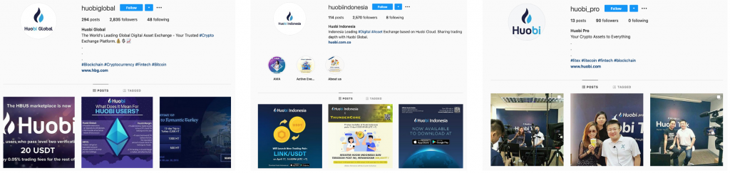 top cryptocurrency instagram news pages