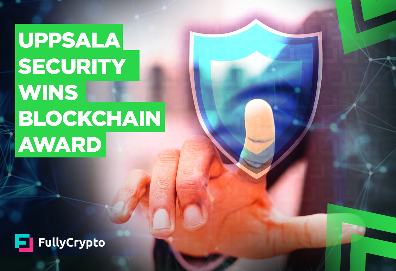 Uppsala-Security-Wins-Blockchain-Award