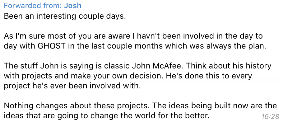 John McAfee Threatens Wrong Man in GHOST Rant