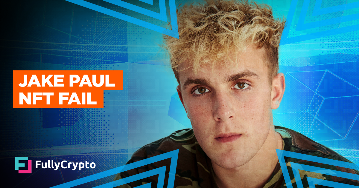 NFT Mania Over? Jake Paul Punch at 1% of Reserve Price thumbnail