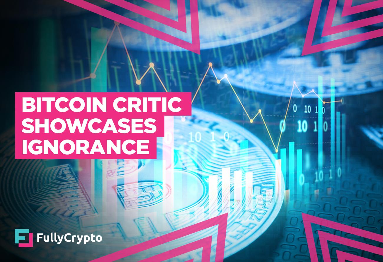 bitcoin critici