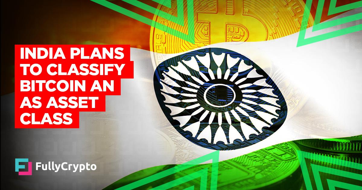 <p>India Plans to Classify Bitcoin as an Asset Class thumbnail