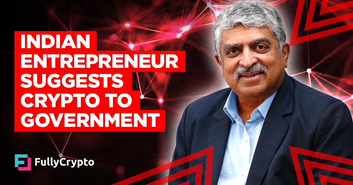 Indian Entrepreneur Nandan Nilekani Suggests Crypto to Government thumbnail
