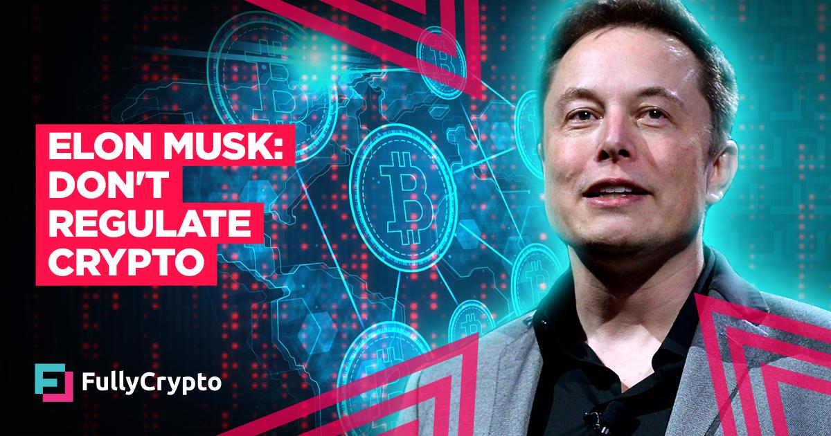 Dogecoin  latest dogecoin news Elon Musk Says Crypto Should Remain Unregulated thumbnail
