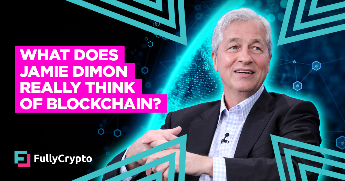 What Does Jamie Dimon Really Think of Blockchain? thumbnail